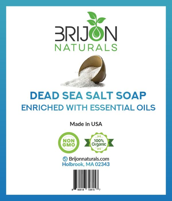 Brijon Naturals Dead Sea Salt Soap