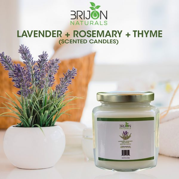 Lavender + Rosemary + Thyme candle