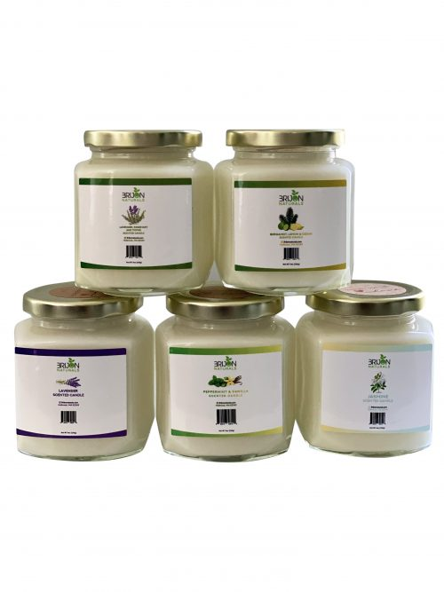 Brijon Naturals Scented candle collection