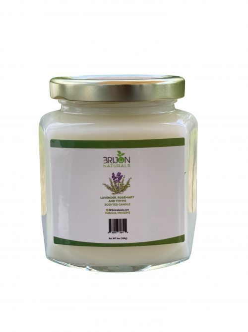 Lavender + Rosemary + Thyme Scented Candles - Brijon Naturals